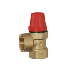 Предохранительный клапан 1/2х1/2 г-г 1,5 атм