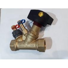 """Балансировачный клапан  1"""" со штуцером"""